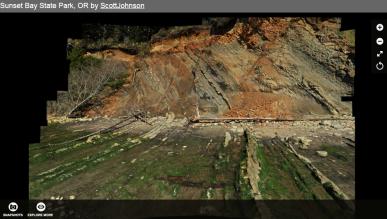 Understanding strike and dip on geologicmaps